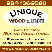 unique wood and iron